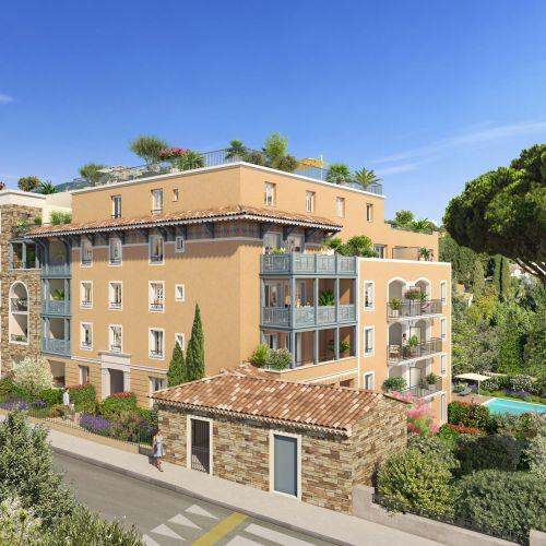 logement neuf extérieur Castel Panorama - CAVALAIRE SUR MER