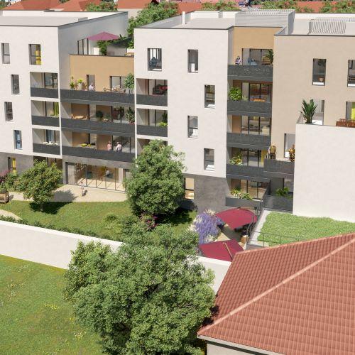 logement neuf extérieur 2 Coeur Impérial - VILLEFRANCHE SUR SAONE