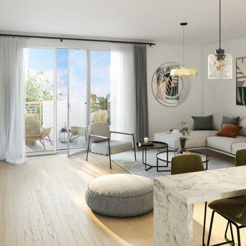 logement neuf extérieur Parfum de Vignes - LIVRY SUR SEINE