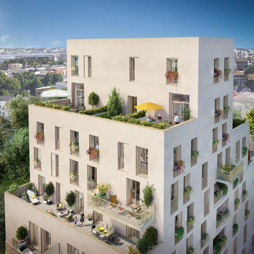 logement neuf extérieur ALLURE - NANTES