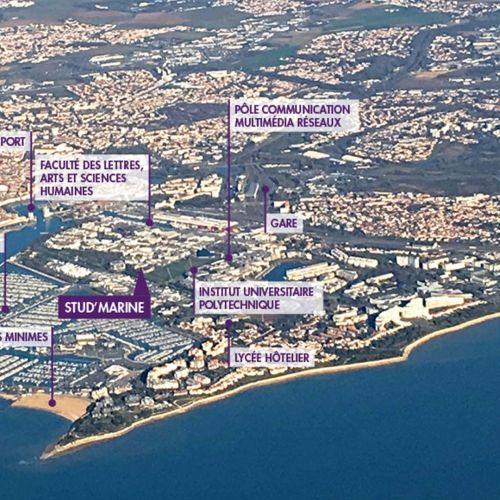 logement neuf extérieur 2 Stud'Marine - LA ROCHELLE