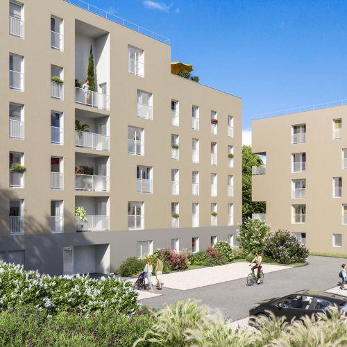 logement neuf extérieur TERRE DE CEDRE - GLEIZE