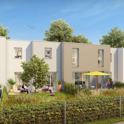 logement neuf extérieur NATURE & EAU - COLMAR