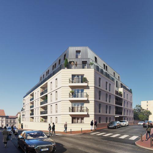 logement neuf extérieur Résidence Fleur D'Orme - LIMOGES