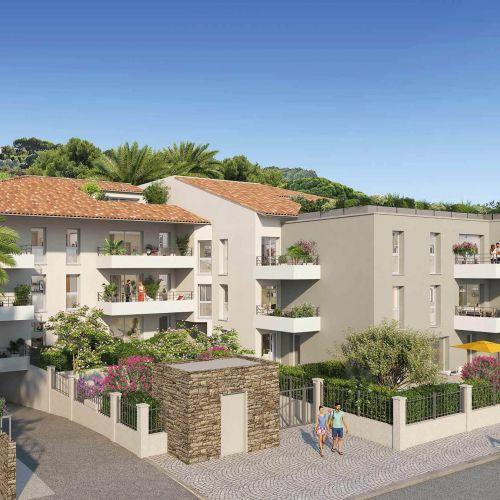 logement neuf extérieur Pavillon Ravello - Le Lavandou