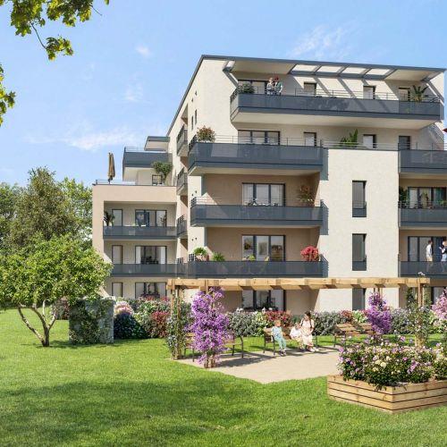 logement neuf extérieur COTE LEMAN - THONON LES BAINS