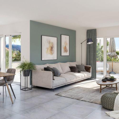 logement neuf intérieur COTE LEMAN - THONON LES BAINS