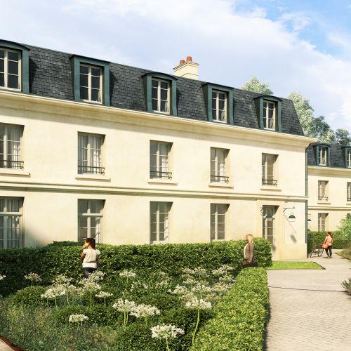 logement neuf extérieur HOTEL DE FONTENAY - VERSAILLES