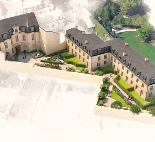 logement neuf plan HOTEL DE FONTENAY - VERSAILLES