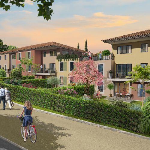 logement neuf extérieur COLLECTION NATURE - Le Puy-Sainte-Réparade