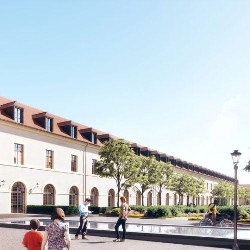 logement neuf extérieur 2 COUR DES CAVALIERS - COMPIEGNE