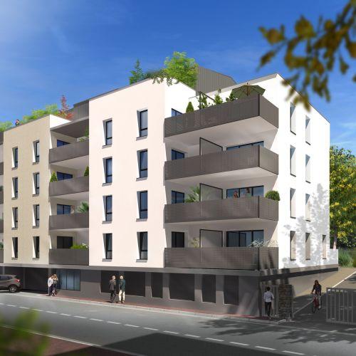 logement neuf extérieur COTE PARK - LIMOGES
