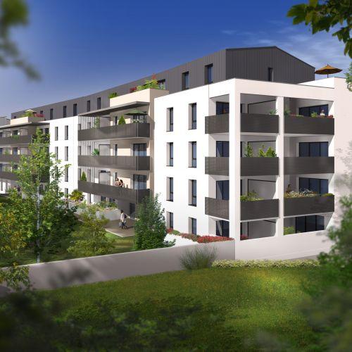 logement neuf extérieur 1 COTE PARK - LIMOGES