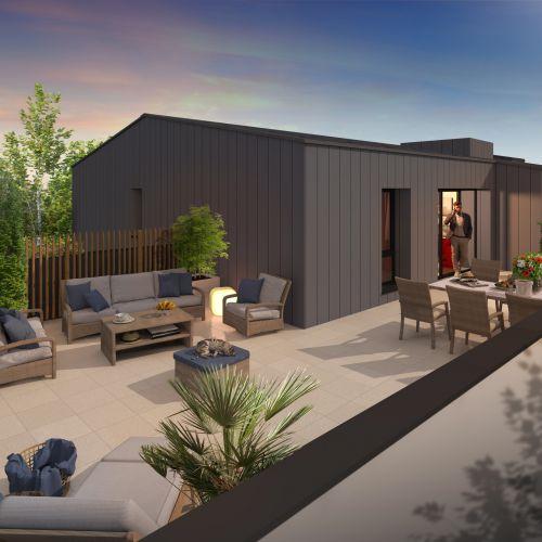 logement neuf extérieur 2 COTE PARK - LIMOGES