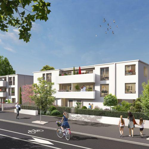 logement neuf extérieur - Mérignac