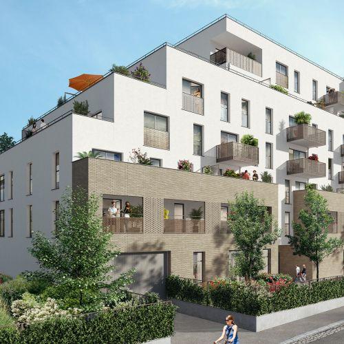 logement neuf extérieur 1 La Promenade d'Aristide - LES PAVILLONS SOUS BOIS