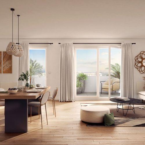 logement neuf intérieur La Promenade d'Aristide - LES PAVILLONS SOUS BOIS