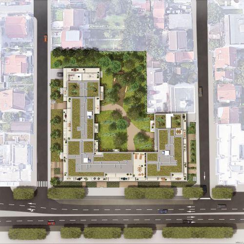 logement neuf plan La Promenade d'Aristide - LES PAVILLONS SOUS BOIS