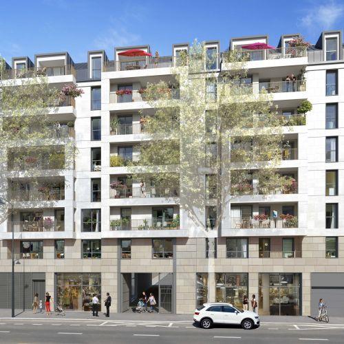 logement neuf extérieur RESIDENCE PRIVILEGES - CLICHY