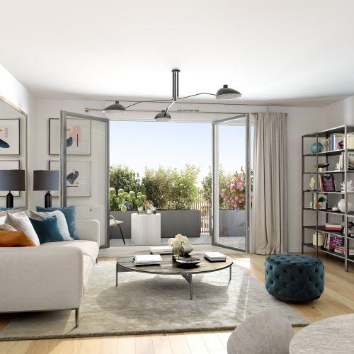 logement neuf intérieur 1 RESIDENCE PRIVILEGES - CLICHY