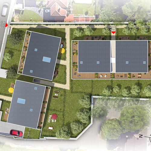 logement neuf plan PRELUDE - LARDENNE - TOULOUSE