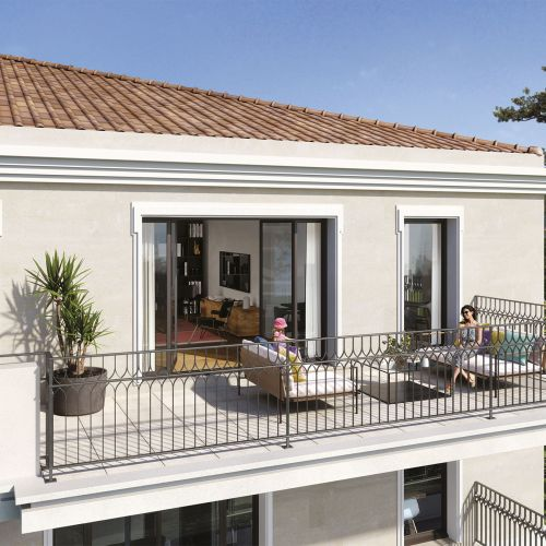 logement neuf extérieur 124 FONTENAILLE - AIX EN PROVENCE