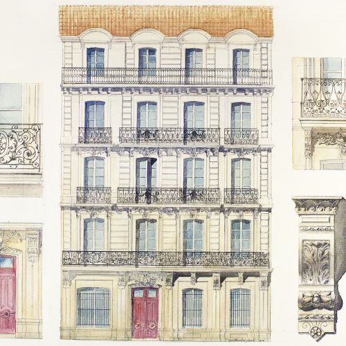 logement neuf extérieur LES DEUX PONTS - MONTPELLIER
