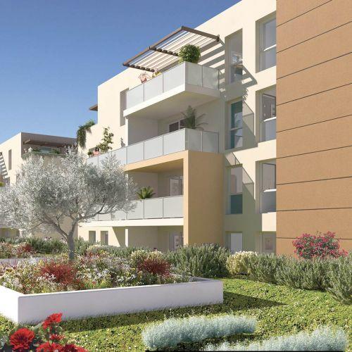 logement neuf extérieur Rythmic - NIMES