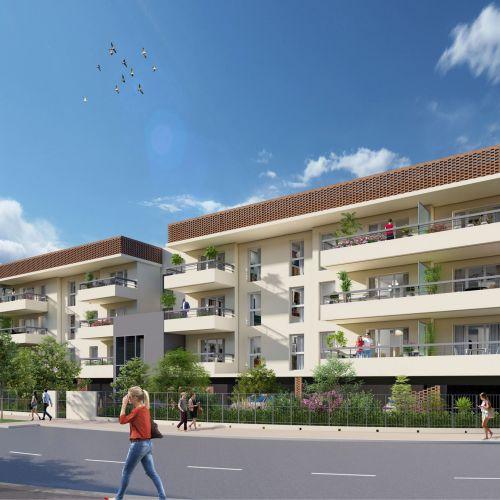 logement neuf extérieur COULEURS DU SUD - ARLES