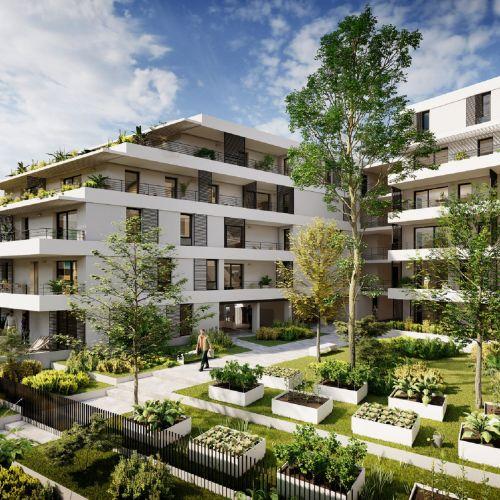 logement neuf extérieur Nao - Lyon