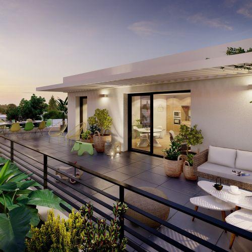 logement neuf extérieur 2 Nao - Lyon
