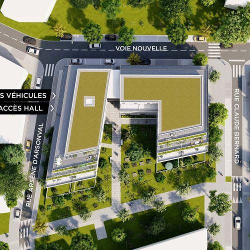 logement neuf plan Nao - Lyon