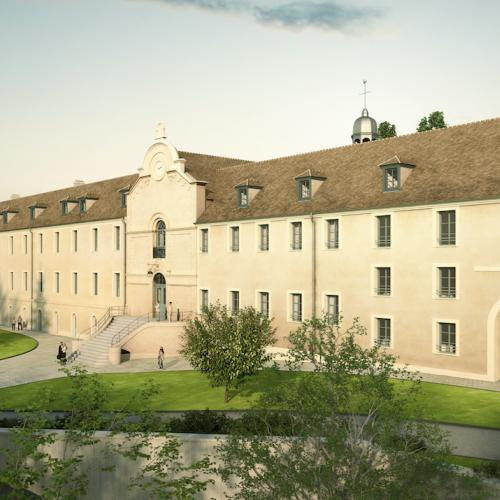 logement neuf extérieur COUVENT DES RECOLLETS  - MELUN