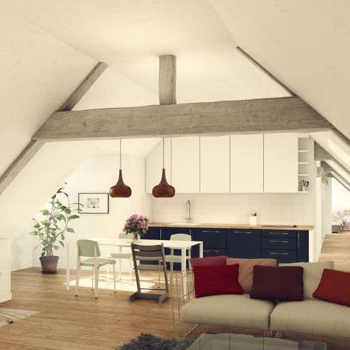 logement neuf intérieur 3 COUVENT DES RECOLLETS  - MELUN