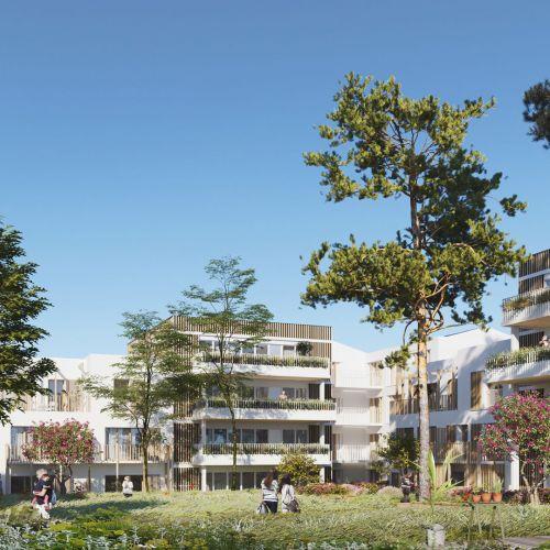 logement neuf extérieur PERSEA - NOISY LE GRAND