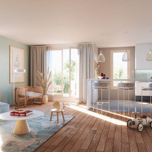 logement neuf intérieur MELIA - TAVERNY