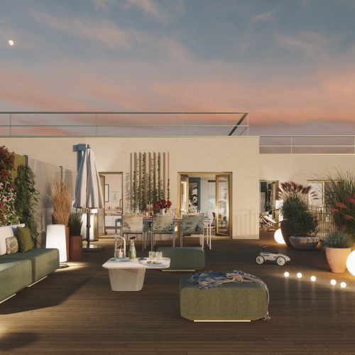 logement neuf extérieur CYDONIA - CLICHY