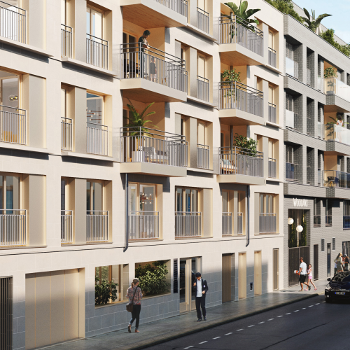 logement neuf extérieur 1 CYDONIA - CLICHY