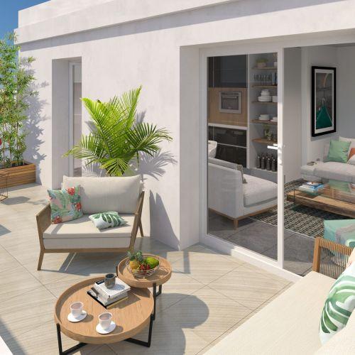 logement neuf extérieur 1 KHOROS - MONTPELLIER