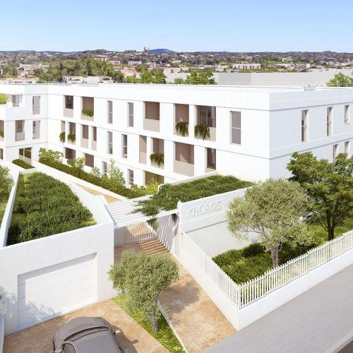 logement neuf extérieur KHOROS - MONTPELLIER