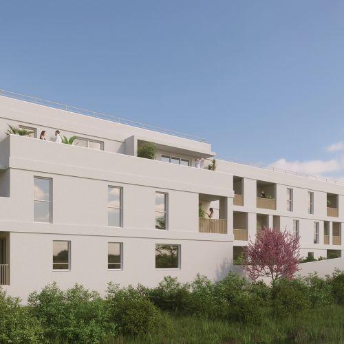 logement neuf extérieur 2 KHOROS - MONTPELLIER