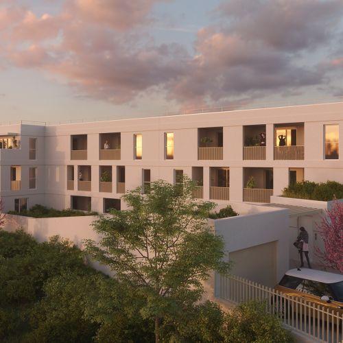 logement neuf extérieur 3 KHOROS - MONTPELLIER