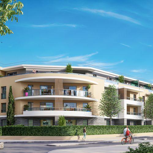 logement neuf extérieur 1 - Auribeau-sur-Siagne