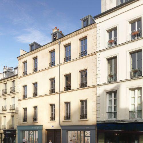 logement neuf extérieur PASSAGE DE L ORANGERIE - VERSAILLES