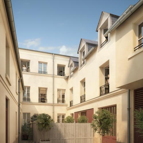logement neuf extérieur 1 PASSAGE DE L ORANGERIE - VERSAILLES