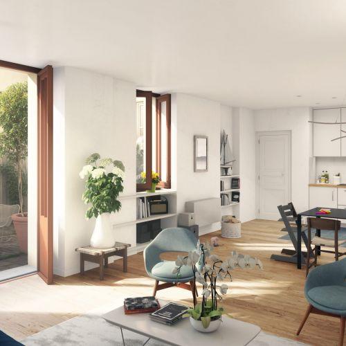 logement neuf intérieur PASSAGE DE L ORANGERIE - VERSAILLES