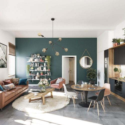 logement neuf intérieur CLOS VAUVERT USINE - ANGERS