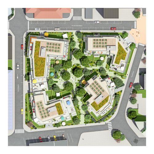 logement neuf plan HERITAGE - CHAMBERY