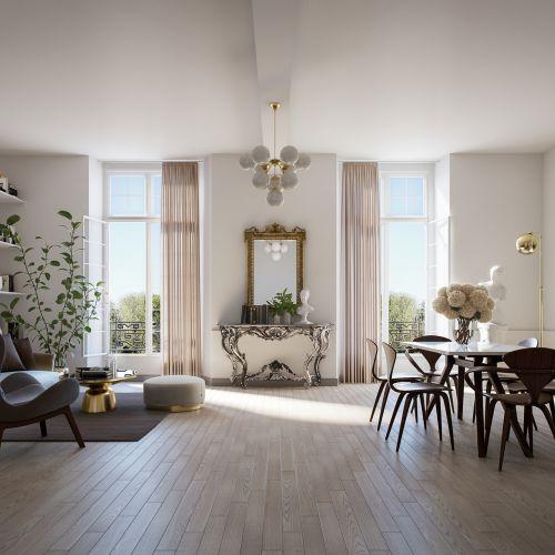 logement neuf intérieur 1 CHATEAU DE PONTCHARTRAIN - JOUARS PONTCHARTRAIN