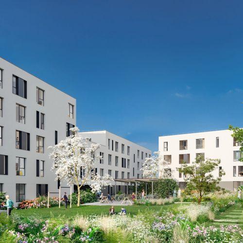 logement neuf extérieur Stud'Campus - ROUBAIX